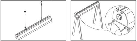 Светильник ФИТО 05-70-001 70 Вт IP54 (2 режима, с подвесами) TDM