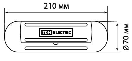 Бокс для защиты кабельного соединения БКС IP44 TDM