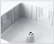 Коробка распаячная КР 75х75х20 ОП белая, IP40, с клем. колодкой,  инд. штрихкод TDM