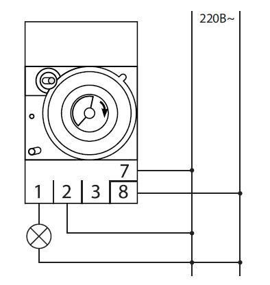 16. питание реле - контакты 7 и 8, подключение нагрузки: 2-3 нормально замкнутый контакт, 2-1 нормально разомкнутый...