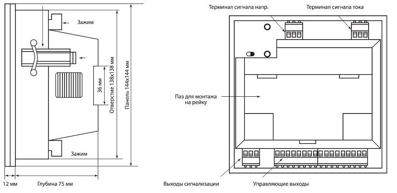Регулятор РРМГ-12 (с защитой от гармоник) TDM