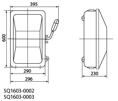 """Ящик с блоком """"рубильник-предохранитель"""" ЯБПВУ-250А IP54 (с ПН-2) модификация2 TDM"""