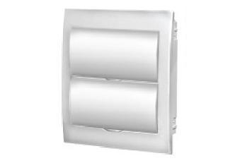 Пластиковые боксы ЩРВ-П с белой дверцей