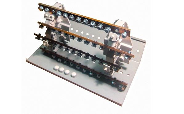 Распределительные блоки на DIN-рейку 4-х полюсные