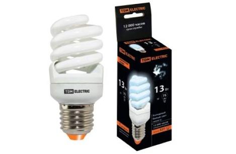 Энергосберегающие компактные люминесцентные лампы (КЛЛ). Бытовая серия