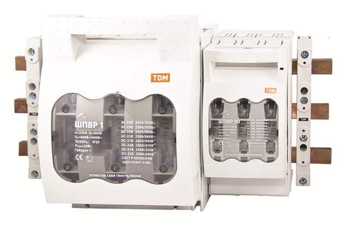 Шинные выключатели-разъединители с функцией защиты ШПВР