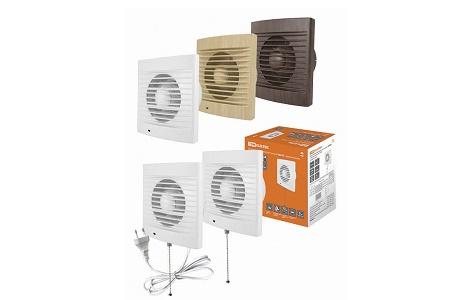 Вентиляторы бытовые настенные